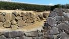 甲府城 二重の石垣…