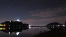 木曽川越しの犬山城と伊木山城…
