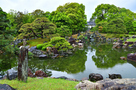 春雨の「二の丸庭園 」⑧…