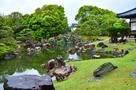 春雨の「二の丸庭園」⑦…