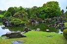 春雨の「二の丸庭園」③…