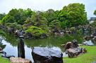 春雨の「二の丸庭園」②…