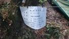 二ノ丸石垣のシート…