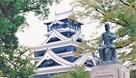 1995年の天守と谷干城像