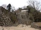 これぞ山城の石垣…