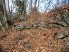 主郭の石積