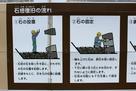 白河小峰城 石垣修復の工事看板1…