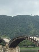 錦帯橋とお城。…