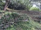 二の丸下の石垣…