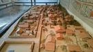 復元城下のジオラマ…
