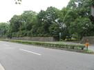 京都御苑の石垣…