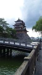 高島城、美しい姿…