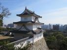 天守台からの坤櫓