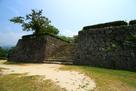 宇和島城 二の丸からの本丸…