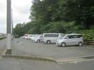 駐車場、この上一の郭。…