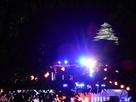 ライトアップ福岡城…