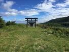 城跡の神社