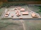 吉川元春館跡の模型…