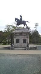伊達正宗銅像