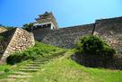 丸亀城 二の丸搦手からの天守…