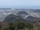 山頂天守からの眺め…