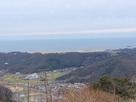 山頂から見た鳥取砂丘…