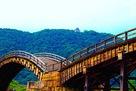 岩国城 錦帯橋と天守…