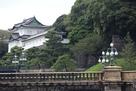 二重橋と伏見櫓…