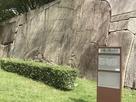京橋口枡形の巨石…