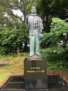 伊東マンショ銅像…