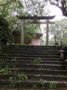 高鍋城下の護国神社…