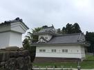仙台城 大手隅櫓と太鼓土塀…