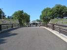 八代宮への参道…