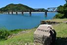水ノ手からの熊野川…
