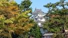大垣公園からの天守の眺め…