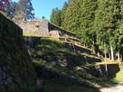 岩村城の六段壁…