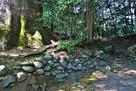 蛭子神社(北西側)土塁…