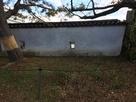 岡口門横土塀内側から…