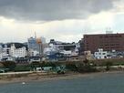 北島橋からの遠景…