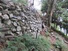二の段の石垣