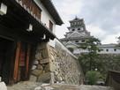 山里櫓の門と天守…