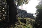 本丸曲輪の石垣…