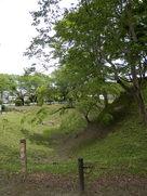 本丸前の堀