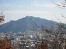 山頂から見た岐阜城…