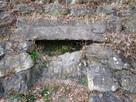 石垣に穴?