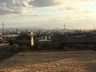 平井城跡から南を望む…