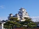 新春の姫路城