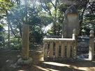 古戦場石碑