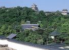 好古園から見る姫路城…