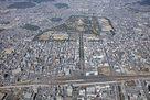 姫路城と周辺市街地…